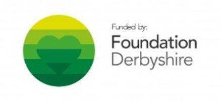 Funded by Foundation Derbyshire logo 300x137